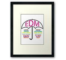 Electronic Dance Music  Framed Print