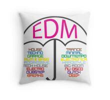 Electronic Dance Music  Throw Pillow