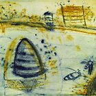 Bee Hives at Great Western by ROSEMARY EAGLE