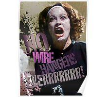 No Wire Hangers Mommie Dearest! Poster
