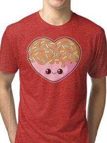 Sugar-Cute Heart Tri-blend T-Shirt