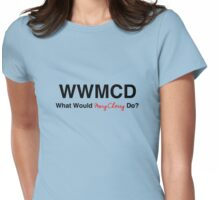 What Would Mary Cherry Do? Womens Fitted T-Shirt