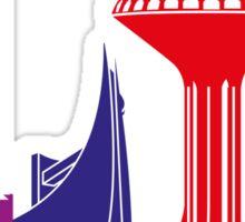 Khobar skyline pop Sticker