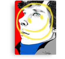 The Smiley Detective Canvas Print