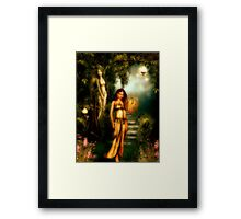 Daughter of Paradise Framed Print