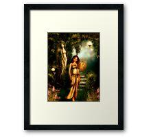 Daughter of Paradise Framed Print