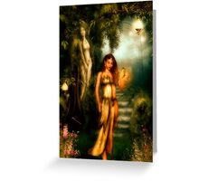 Daughter of Paradise Greeting Card