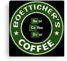Gale Boetticher's Best Coffee Ever Canvas Print