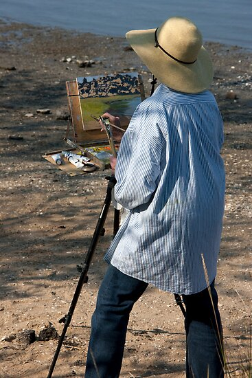 Low Tide Artist by phil decocco