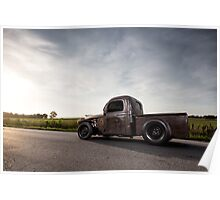 1940 Dodge Pickup Rat Rod Poster