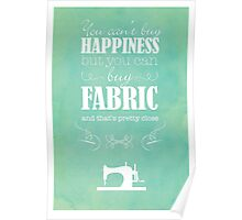 Sewing Poster Poster