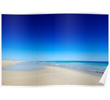 Willie creek beach, north of Broome Poster