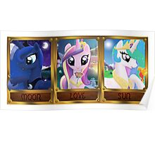 Pony Princesses Poster