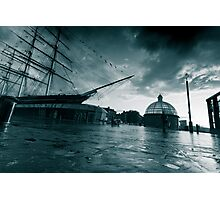 Stormy Cutty Sark Photographic Print