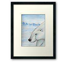 Polar Bear 2 Framed Print