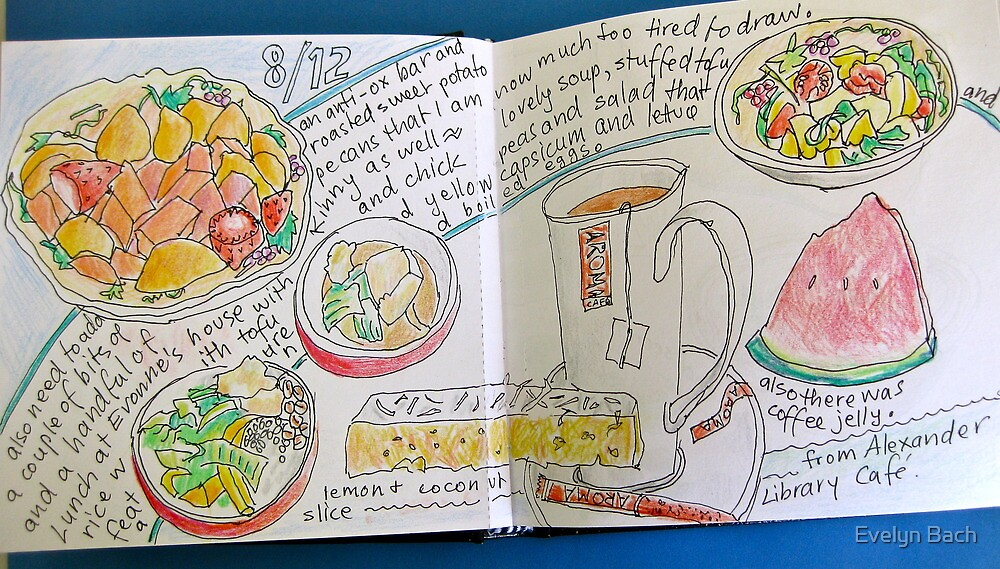 from the food diary: lunch at Evonne's by Evelyn Bach