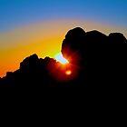 Bishops Peak At Sunset by judsonphoto