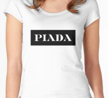 Piada - its a joke! parody tee Women's Fitted Scoop T-Shirt