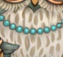Elegant Owl Sticker