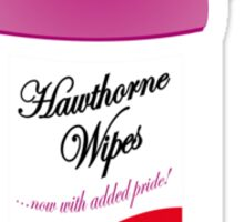 Hawthorne Pride Wipes Sticker