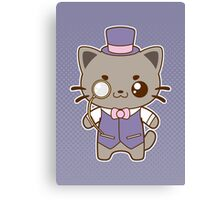 Fancy Cat Canvas Print