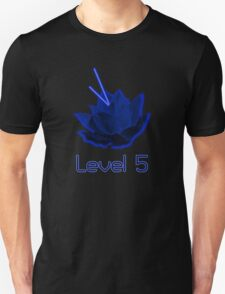 Level 5 Laser Lotus - Blue T-Shirt