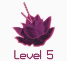 Level 5 Laser Lotus - Pink Kids Clothes