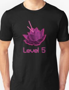 Level 5 Laser Lotus - Pink T-Shirt