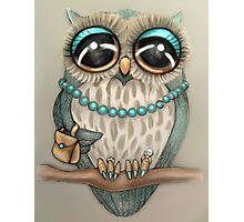 Elegant Owl Photographic Print