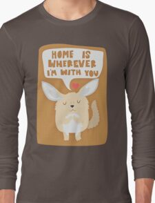 Fennec Fox - Home Is Wherever I'm With You Long Sleeve T-Shirt