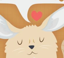 Fennec Fox - Home Is Wherever I'm With You Sticker