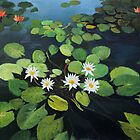 Water Lilies by kirilart