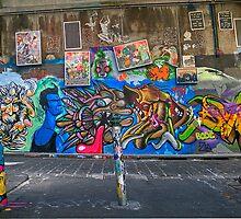 Hosier lane Graf by Lucas D'Arcy