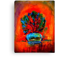 """Beth's Flowers 2 - Digital""  by Chip Fatula Canvas Print"