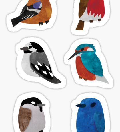 Beautifully Designed Bird Breed Images Sticker