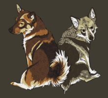 Vallhunds - Natural Colours by KatArtDesigns