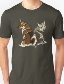 Vallhunds - Natural Colours Unisex T-Shirt