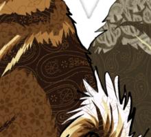Vallhunds - Natural Colours Sticker