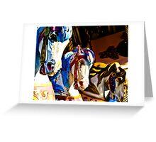 Carousel History Greeting Card