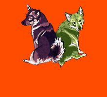 Vallhunds - Purple/Green Unisex T-Shirt
