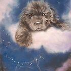 Newfoundland Puppy by SurfCityArt