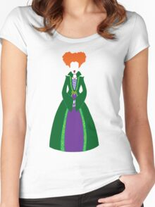 Winnie Sanderson Women's Fitted Scoop T-Shirt