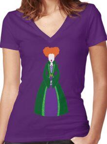 Winnie Sanderson Women's Fitted V-Neck T-Shirt