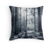 """Winter solstice"" Throw Pillow"