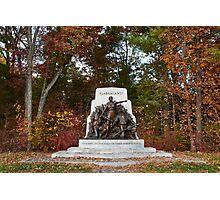 Gettysburg National Park - Alabama Memorial Photographic Print