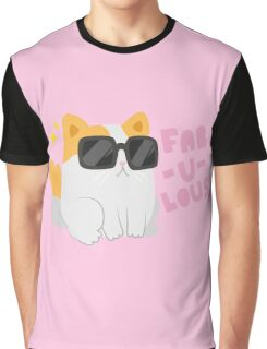 Fab-u-lous Kitty Graphic T-Shirt