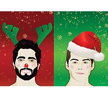 Have A Sterek Christmas Photographic Print