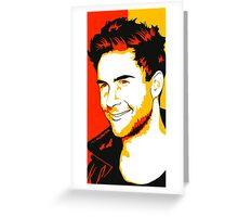 Adam L smile Greeting Card