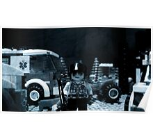 Lego Police Officer Poster
