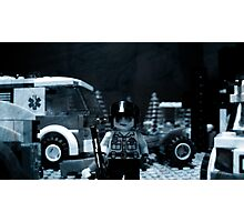 Lego Police Officer Photographic Print